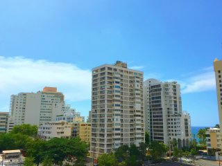 Stunning 3 Bedroom W/ Ocean View - Condado Beach, San Juan