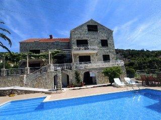Villa Aquarius  - Apartment mit Terrasse, Zaton