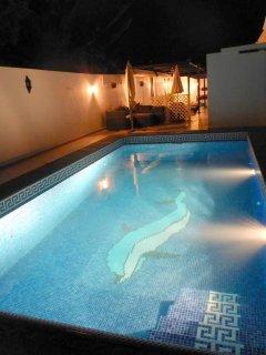 For evening swim