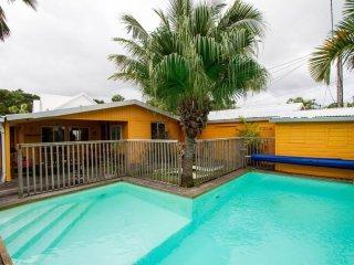 Charmante villa créole avec piscine chauffée