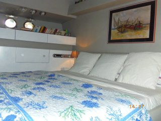 cabina matrimoniale letto king size con bagno priv, Arbatax