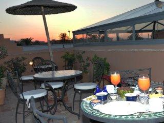 couchè du soleil à la terrace