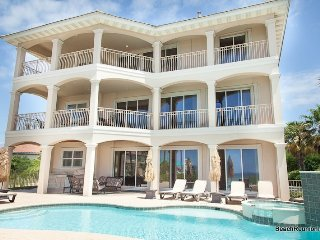 Over The Top: 5 Bdrm, Gulf View, Private Pool, Game Room, Destin