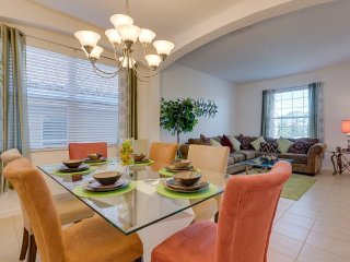 Formal living and dinning room , a real home from home
