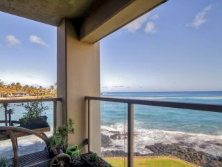 New Listing! Enthralling 1BR Poipu Condo w/Wifi, Private Lanai & Picturesque Panorama Water Views - Easy Access to Beach Amenities!, Koloa