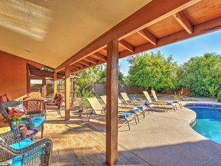 Quiet Scottsdale Home w/Indoor Fireplace Near Golf