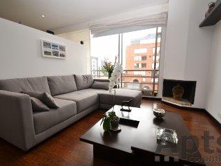 PARISIA - 1 Bed Executive Studio Apartment with gym - Chico Norte, Bogotá