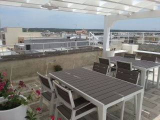 """Casa vacanze """"Il Faro"""" con terrazza panoramica e solarium a due passi dal mare, Maruggio"""