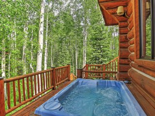 Ski-In/Ski-Out Telluride Log Home w/Deck, Mtn View