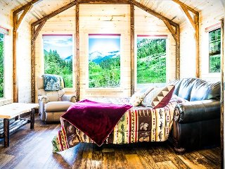 ***Fisher Cabin in the Crazy Mountains!!!  Cozy and Secluded***