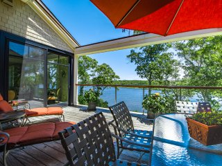 JOHST - Captivating, Luxury Waterfront Vacation Home,  Sweeping Waterviews, Vineyard Haven