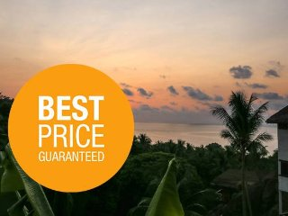 Two-bed Bungalow Ocean View on Top 10 best beach, Ko Phangan