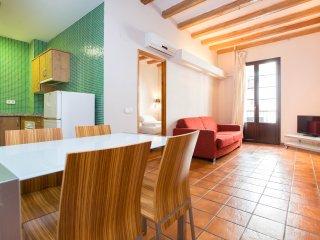 Fabulous flat 2 minutes from Rambla, Barcelona