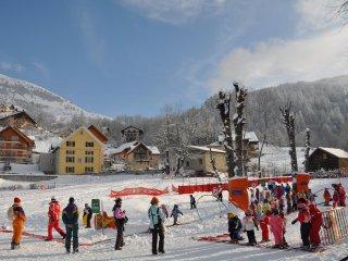 Appartement 7 pers. centre station, skis aux pieds, Valloire