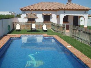 Chalet con piscina, Conil de la Frontera