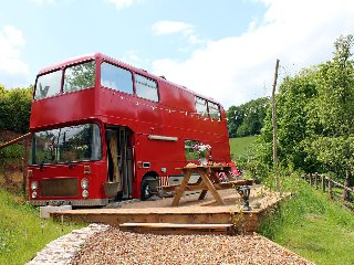 The Red Bus, Forest of Dean H198
