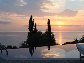 Alico BSV, 5star private, luxuriöse Villa mit Pool, Skinaria