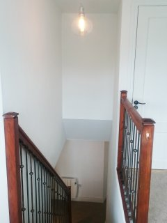 Top floor landing and stair case