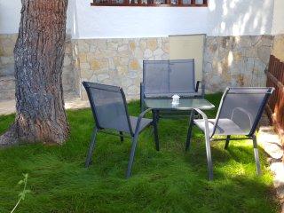 Apartamento con jardin,terraza con piscina y playa, Alcossebre