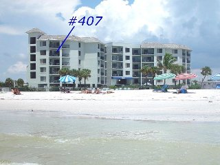 Caprice #407 - Beautiful 2 bedroom condo overlooking the Gulf!, St. Pete Beach