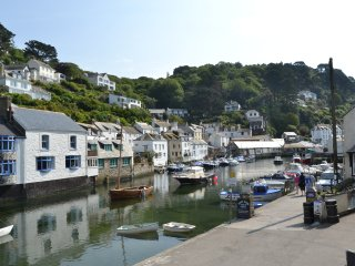 Superb views of Polperro Harbour