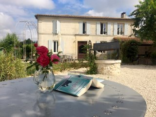 Chez Sibert villa with private heated pool, sleeps 8 plus 2 extra children, Cherac