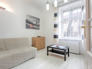 At Krakow Boulvars - free wifi. 2 bedrooms Apartment