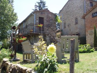 Typical farmhouse in tuscany, Poppi