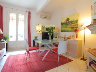 Beau 3Pieces 100m du Port balcon A/C, WIFI,parking