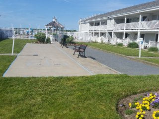 Oceanfront Condo Overlooking private Beech, Falmouth