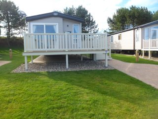 Platinum caravan at Reighton Sands Holiday park