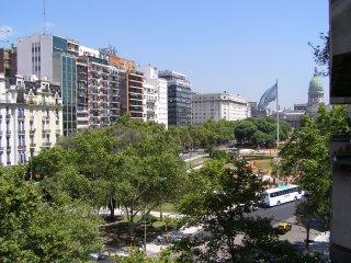 Plaza del Congreso Naciona esquina Avenida de Mayo