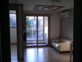 Gwangali beach bnb house(double sized bed), Busan