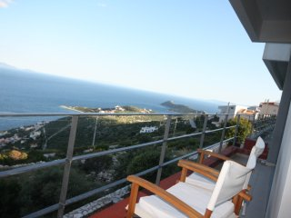 Schinias dream view vacation home, sports heaven., Nea Makri