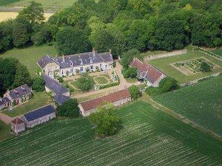 Le Logis de La Cornillière aux portes de Tours, La Membrolle-sur-Choisille