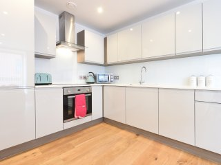 Fully integrated kitchen.
