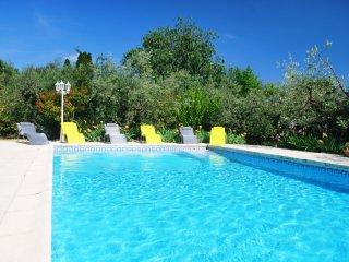 Gîte 6/7 pers avec piscine à 10' de Nîmes