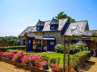 Maison de pecheur avec jardin, prox Brehat Paimpol