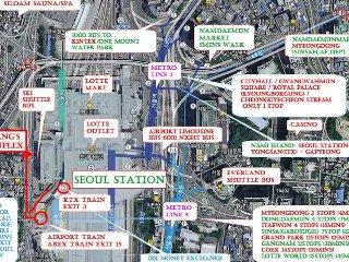 复式住宅 Duplex front of SEOUL STATION #7, Seúl