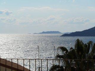 Ferienwohnung mit großer Terrasse und Meerblick