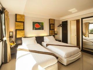 Twin beds in Phuket!, Talat Yai