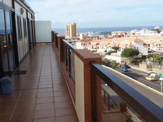 apartamento con vistas al mar y al teide