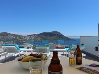 Brand New Apartment With Private Roof Terrace Pool, Kalkan