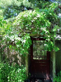 Secret garden doors to...