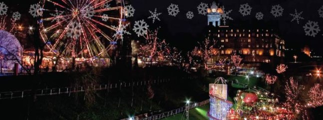 Edinburgh Christmas and New Year celebrations not to be missed including the famous Hogmanay Party.