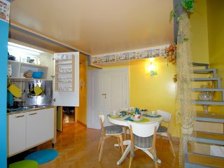 Casa Pariolina: Suite-Villa Borghese wi.fi kitchen