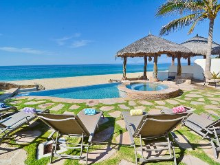 Stunning 4BD Beachfront House, San Jose del Cabo