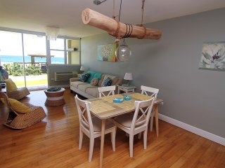 #12 Beachfront Apt: 2BR, 2BA - with Power, Water and Internet