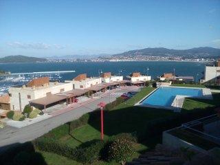 Lujo Terraza 25m, Playa Piscina Centrico, segurida, Baiona