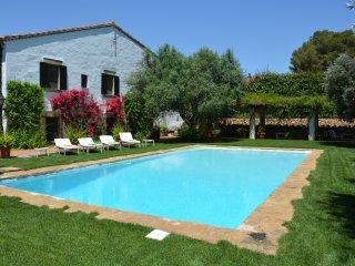Cottage Sitges  Mas Peirot. 14/18 pers. Chill-out, Porche, Jardin y Piscine XXL